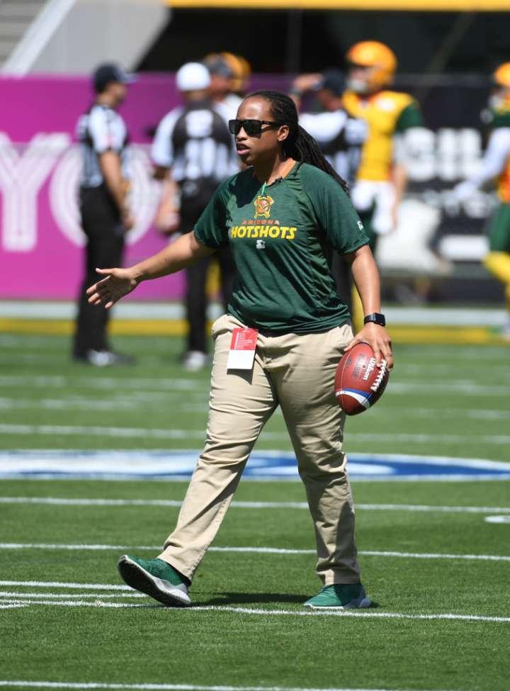 Jennifer King, First Black Woman NFL Coach