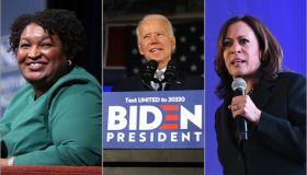 Biden VP rumors: stacey abrams, kamala harris