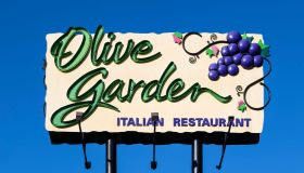 Olive Garden restaurant billboard ad...