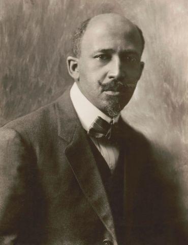 W.E.B. Du Bois, Portrait by C.M. Battey, 1918