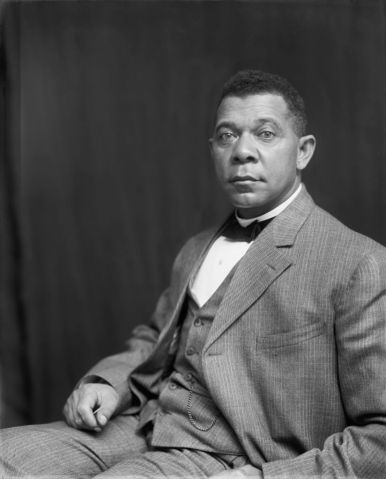 Booker T. Washington, Seated Portrait, 1895