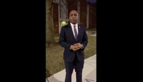 Kansas City, Missouri, Mayor Quinton Lucas primary voting video