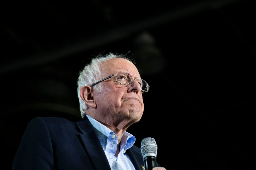Democratic Presidential Candidate Bernie Sanders Holds Rally In Detroit Ahead Of State's Primary