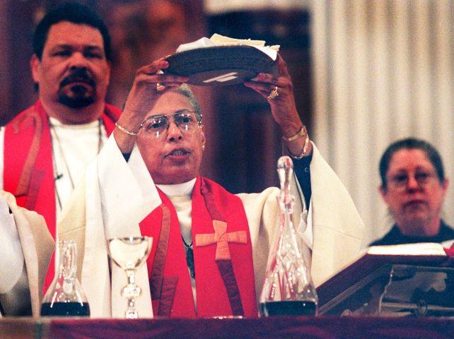 Bishop Barbara Harris...