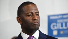Andrew Gillum Joins LGBTQ Groups At Rally
