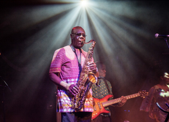Celtic Connections Festival 2014 - Manu Dibango Performs