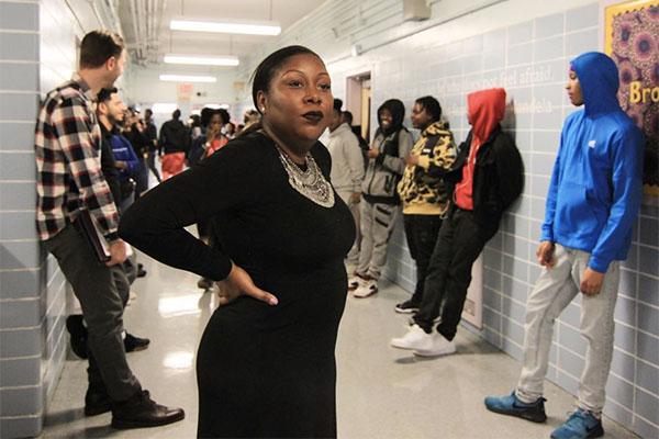 Brooklyn Democracy Academy Principal Dezann Romain