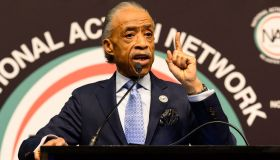 Rev. Al Sharpton, NAN Founder, at the National Action...