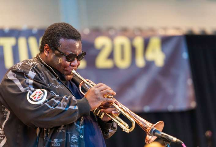 Wallace Roney Orchestra At Richard Rodgers Amphitheater