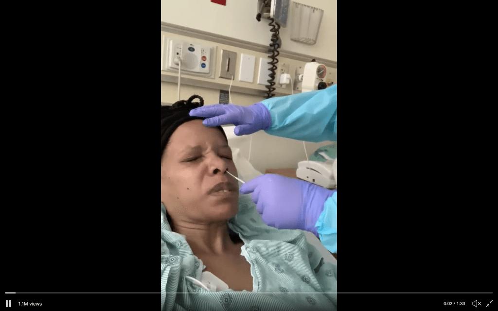 Coronavirus testing video