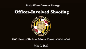 Montgomery County Maryland Police Department shooting video
