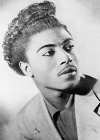 Little Richard Poses For An Early Portrait