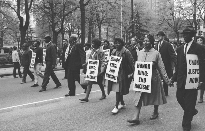 Marching In Memphis