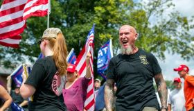 Chester Doles, a self-proclaimed 4th generation klansman and organizer of the Neo-Nazi rally