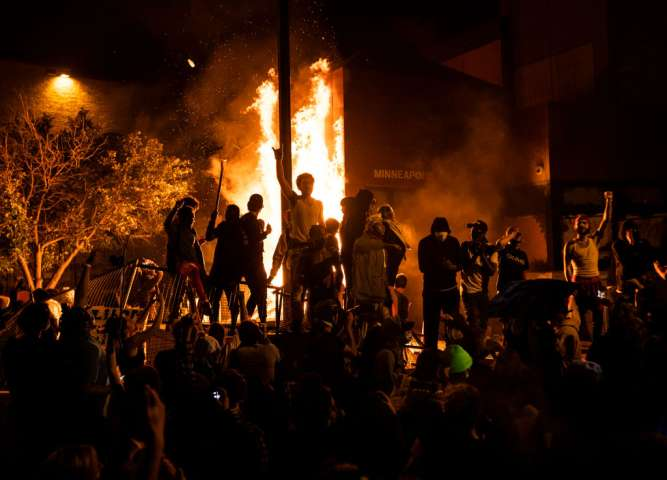 Protests Continue Over Death Of George Floyd, Killed In Police Custody In Minneapolis
