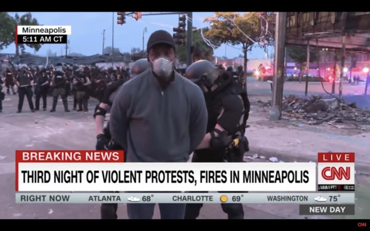 CNN's Omar Jimenez arrested live on air
