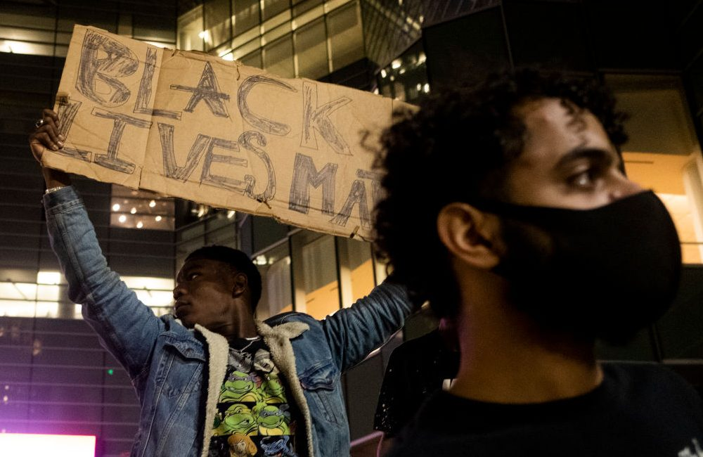 Protests Continue Around Detroit After Police Officer Allegedly Punched Woman