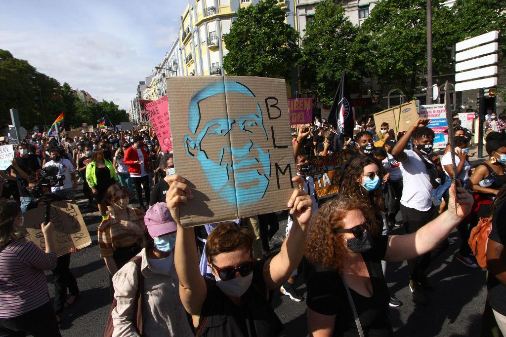 Black Lives Matter Protest In Lisbon
