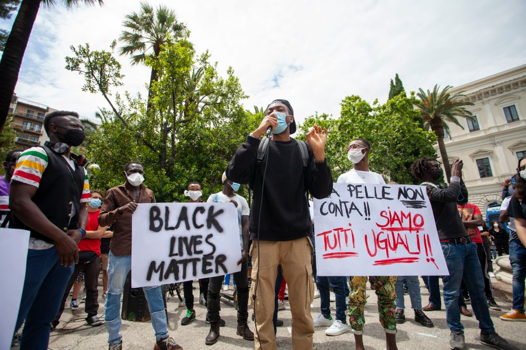 The Black Lives Matter Movement Inspires Protests In Bari