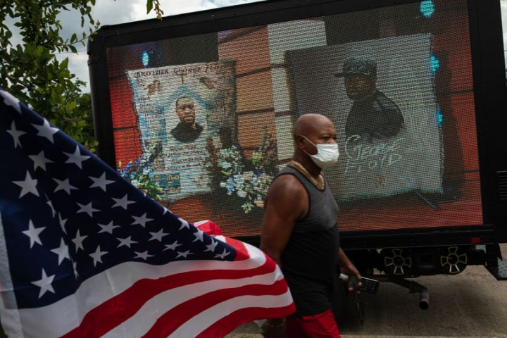 Protests Continue After The Death Of George Floyd, In Minneapolis