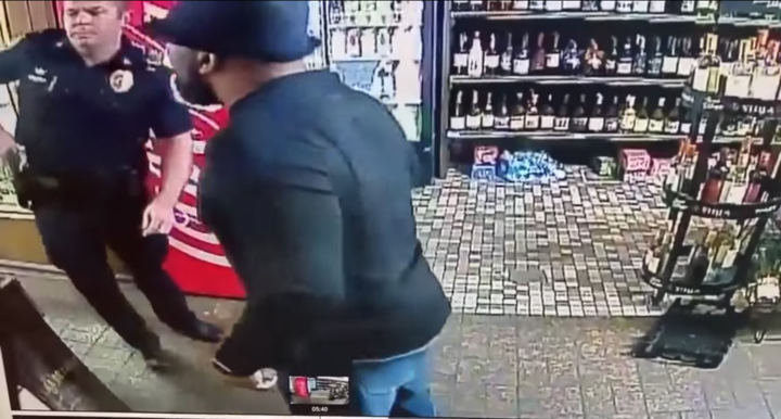 Cops punch Alabama business owner instead of robber