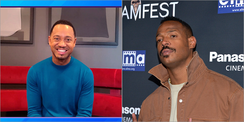 Terrence J and Marlon Wayans