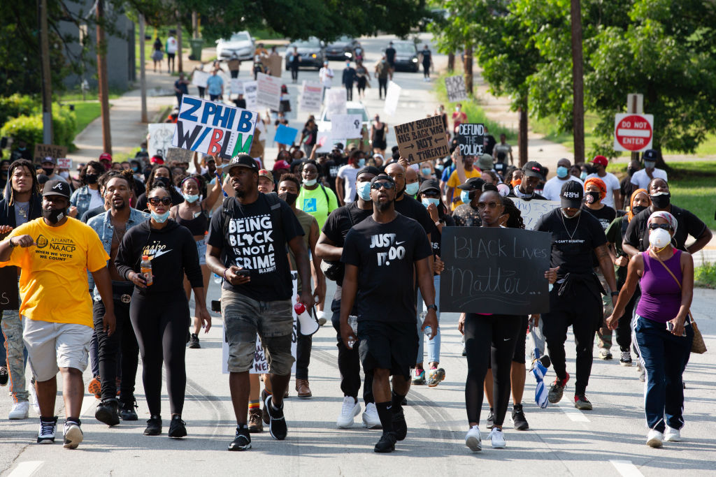 Protests Erupt In Atlanta After The Police Killing Of Rayshard Brooks