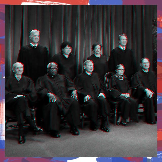 Supreme Court Justices; #TheBlackBallot