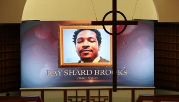 Public Viewing Held For Rayshard Brooks In Atlanta