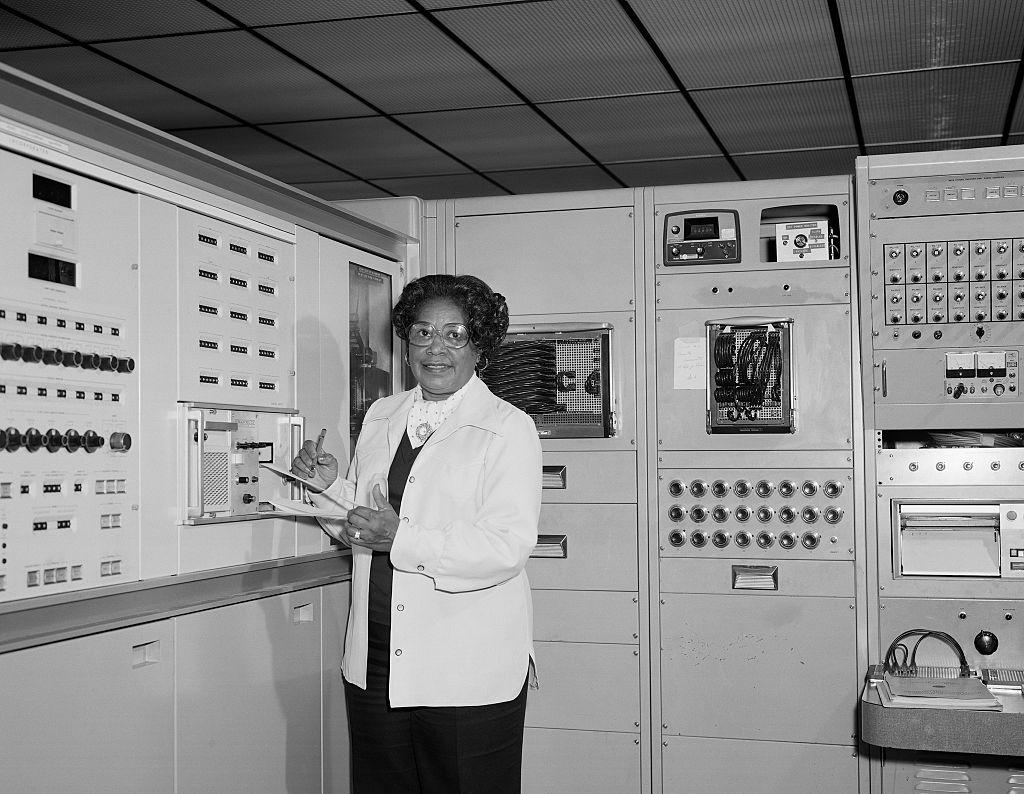 Mary Jackson At Work