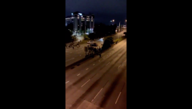 Seattle protest hit and run