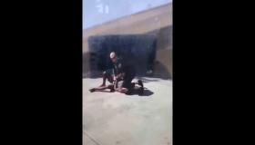 Schenectady police kneeling arrest video