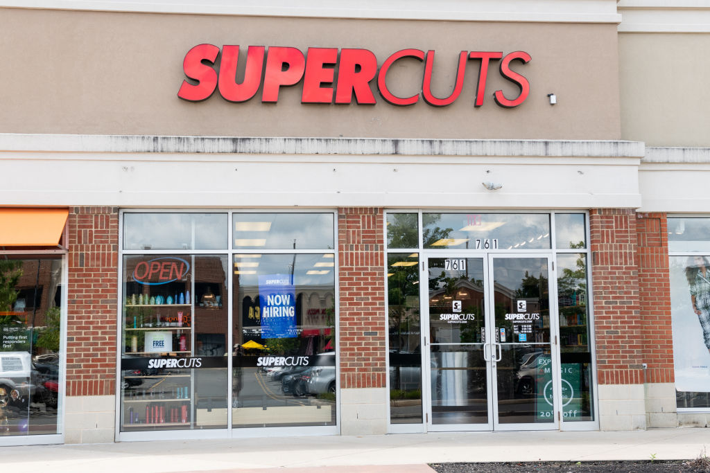 Supercuts store in North Brunswick Township, New Jersey...