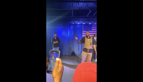 Kanye West campaign rally meltdown