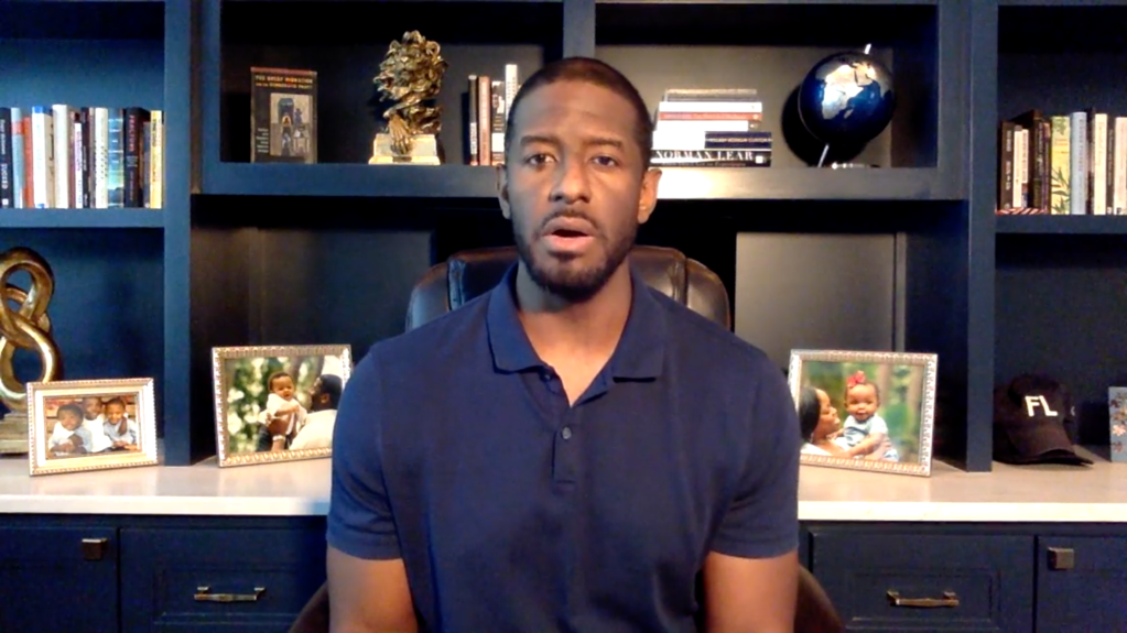 Andrew Gillum personal update Instagram video