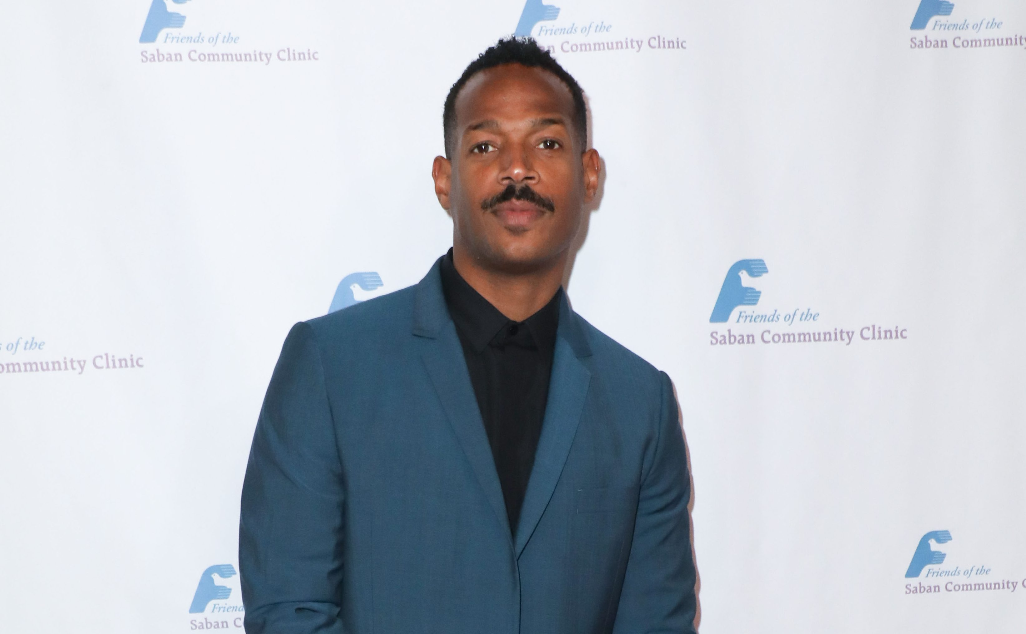 Marlon Wayans arrives at the Saban Community Clinic's 43rd Annual Dinner Gala held at The Beverly Hilton Hotel on November 18, 2019 in Beverly Hills, Los Angeles, California, United States. (Photo by Image Press Agency)