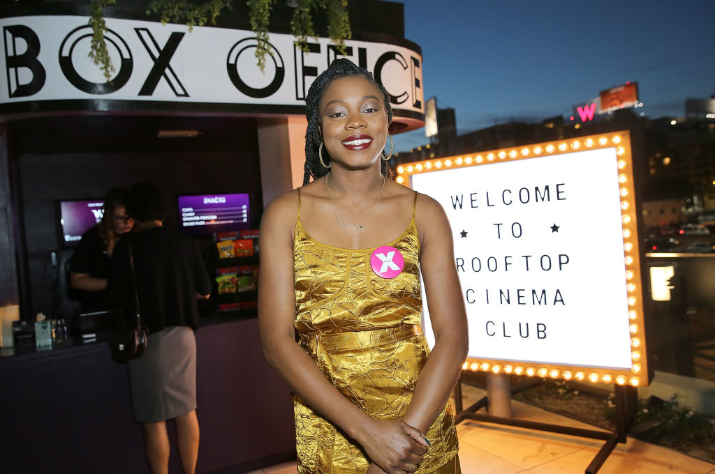 "Los Angeles Pink Carpet Premiere Of ""Little Woods"" Hosted By Refinery29, NEON And Rooftop Cinema Club At NeueHouse Hollywood"