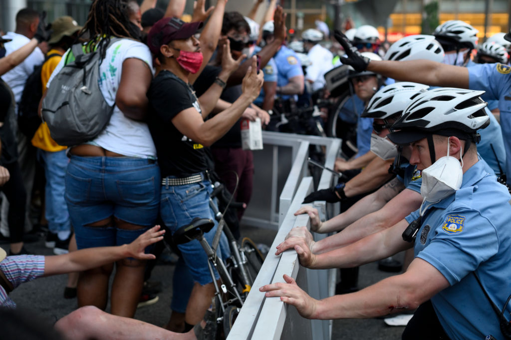 George Floyd Solidarity Protest In Philadelphia