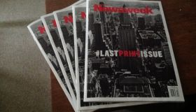 Newsweek's Last Print Issue