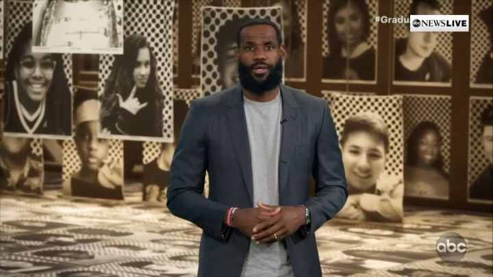 LeBron James presents 'Graduate Together: America Honours the High School Class of 2020'
