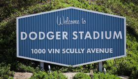 Dodger Stadium Closed As MLB Opening Day Postponed Due To Coronavirus COVID-19 Pandemic