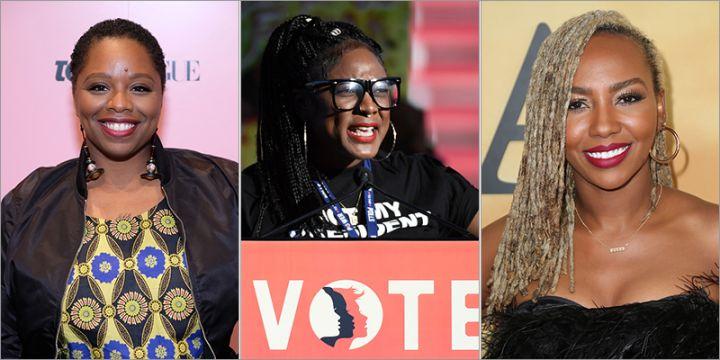 Black Lives Matter founders Patrice Cullors, Alicia Garza, Opal Tometi
