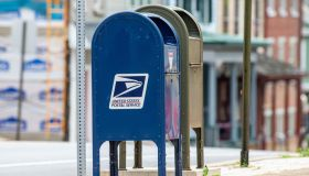This United States Postal Service (USPS) mailbox is in...
