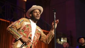 Singer Leon Bridges performs at Matt's Promise