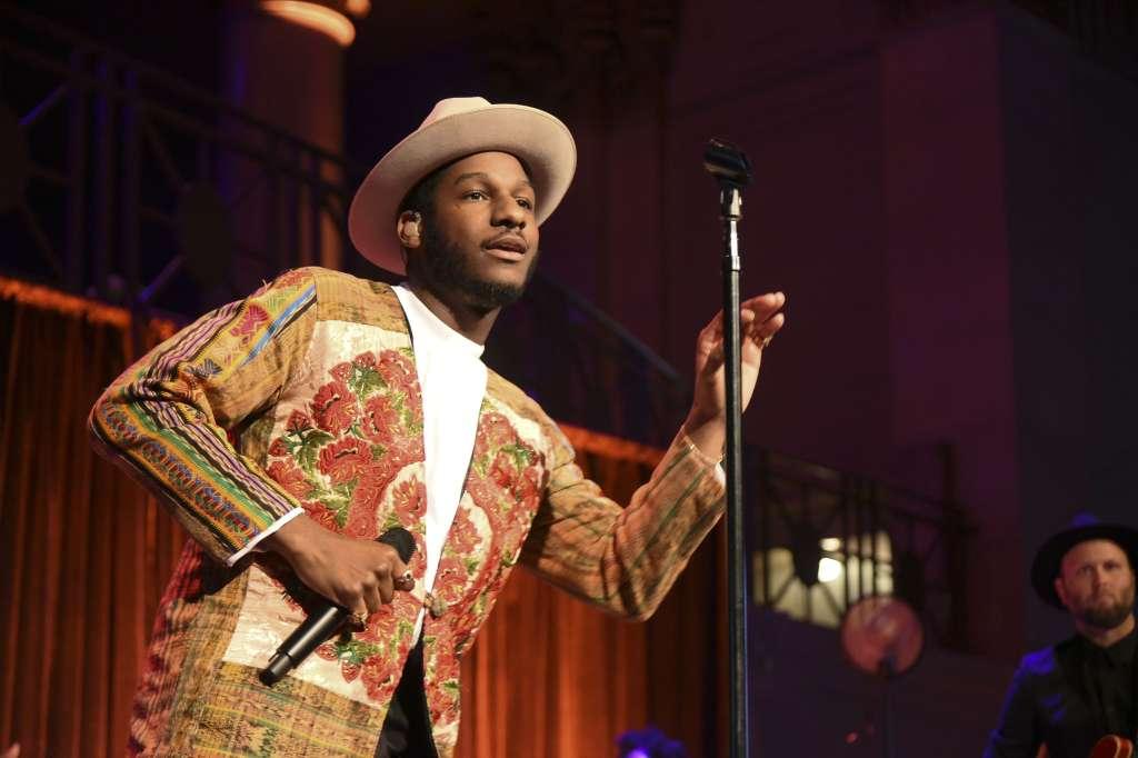 Singer Leon Bridges performs at Matt's Promise