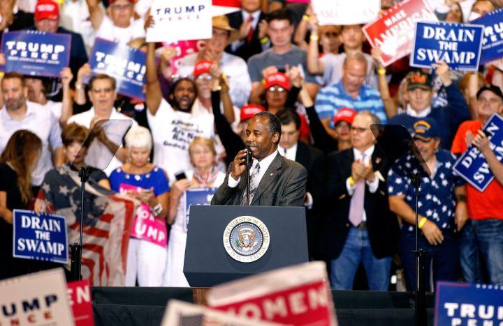 President Trump Holds Rally In Phoenix, Arizona