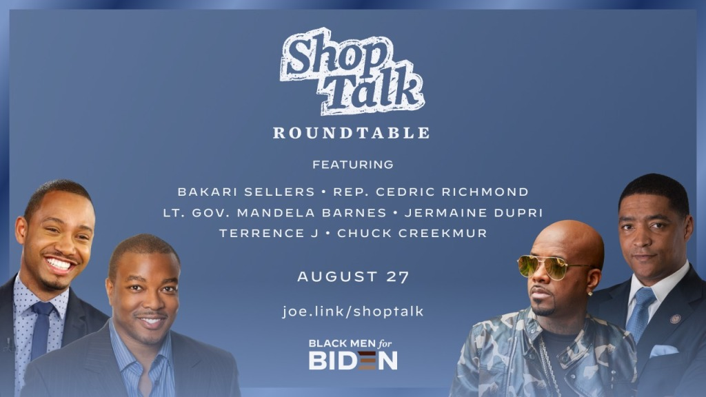 "Joe Biden Campaign ""Shop Talk"""