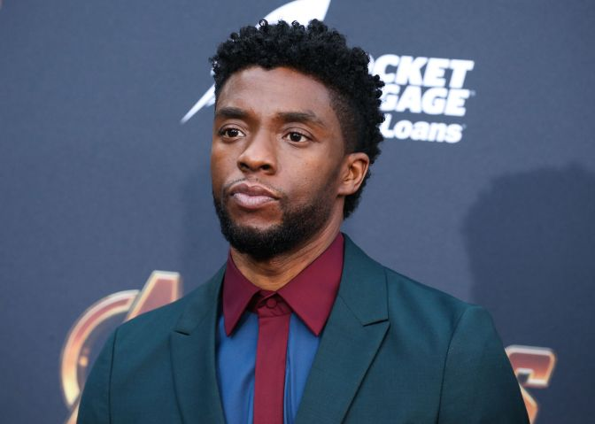 (FILE) Chadwick Boseman Dead at 43 After Battle With Colon Cancer. HOLLYWOOD, LOS ANGELES, CALIFORNI...