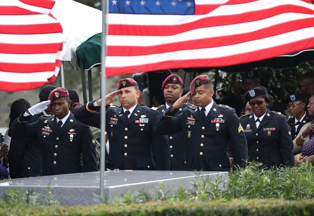 Funeral Held For Army Sergeant La David Johnson Killed In Ambush In Niger