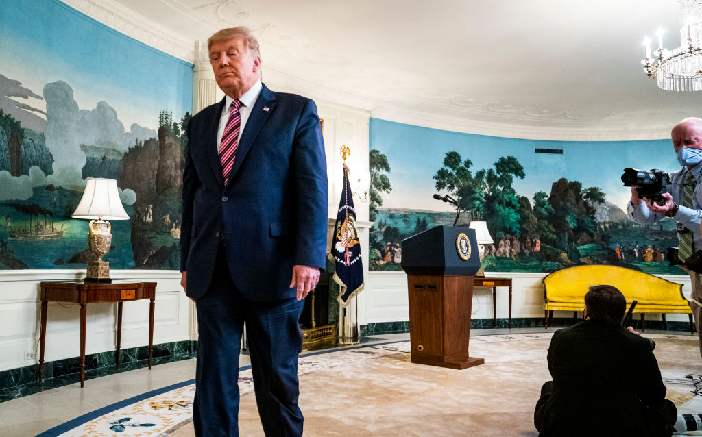 President Trump Delivers Remarks On Judicial Appointments